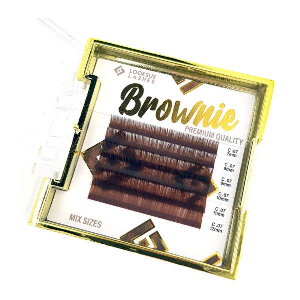 Rzęsy Brownie 0,07
